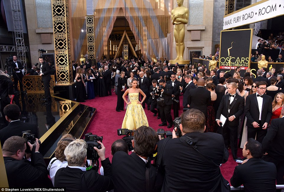 Hello Hollywood: The Dolby Theatre was packed with famous faces ahead of the 88th annual Academy Awards