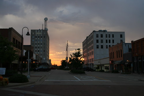 sunrise in longview