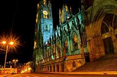 Basilica de Voto Natcional, Quito, Ecuador