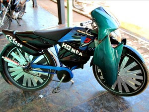 Acre Bicicleta (Foto: Duaine Rodrigues/G1)