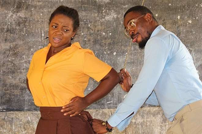 Jackie Appiah Goes Back To School Source: MustaphaInusah.Com