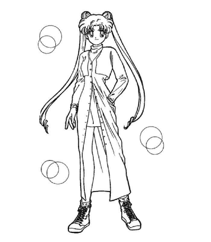 Sailor Moon 15 Disegni Per Bambini Da Colorare Auto Electrical