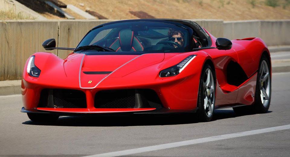 Ferrari Laferrari Aperta Gets Official Promo In Barcelona