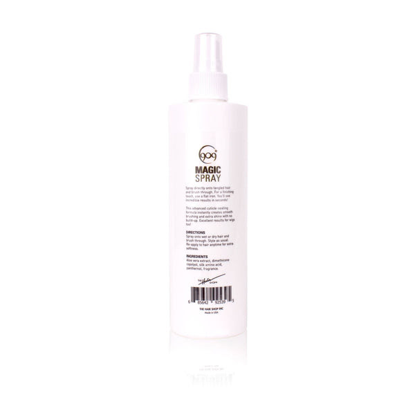 909 Detangler Magic Spray, Aloe Vera Infused LeaveIn Conditioner for \u2013 BaddBeauty