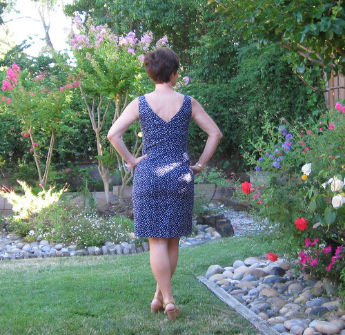 Butterick 5455 back view