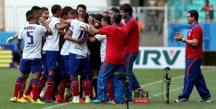 Arena Fonte Nova; Bahia x Atlético-GO (Foto: Felipe Oliveira/Divulgação/EC Bahia)