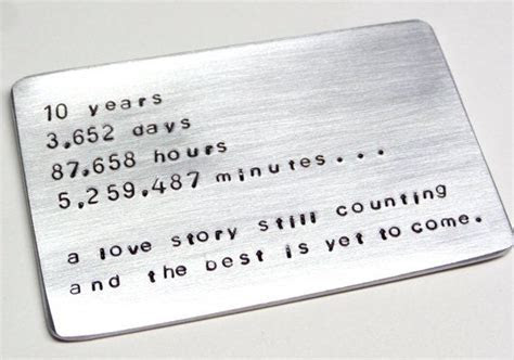 25  best ideas about 10 Year Anniversary Gift on Pinterest