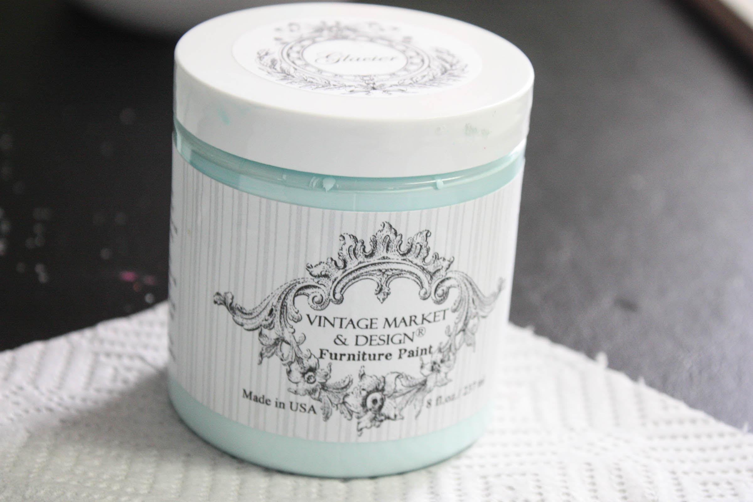Glacier Chalk Paint Vintage Market Design Re Fabbed