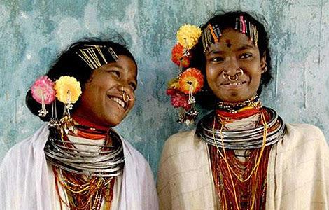 Dos miembros de la tribu Dongria. | Jason Taylor