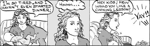 Home Spun comic strip #149