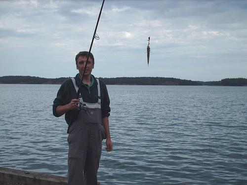 Krzysztof fishing