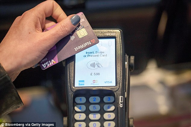 The use of contactless cards has soared in recent years and 'tap and pay', accounting for one in four payments