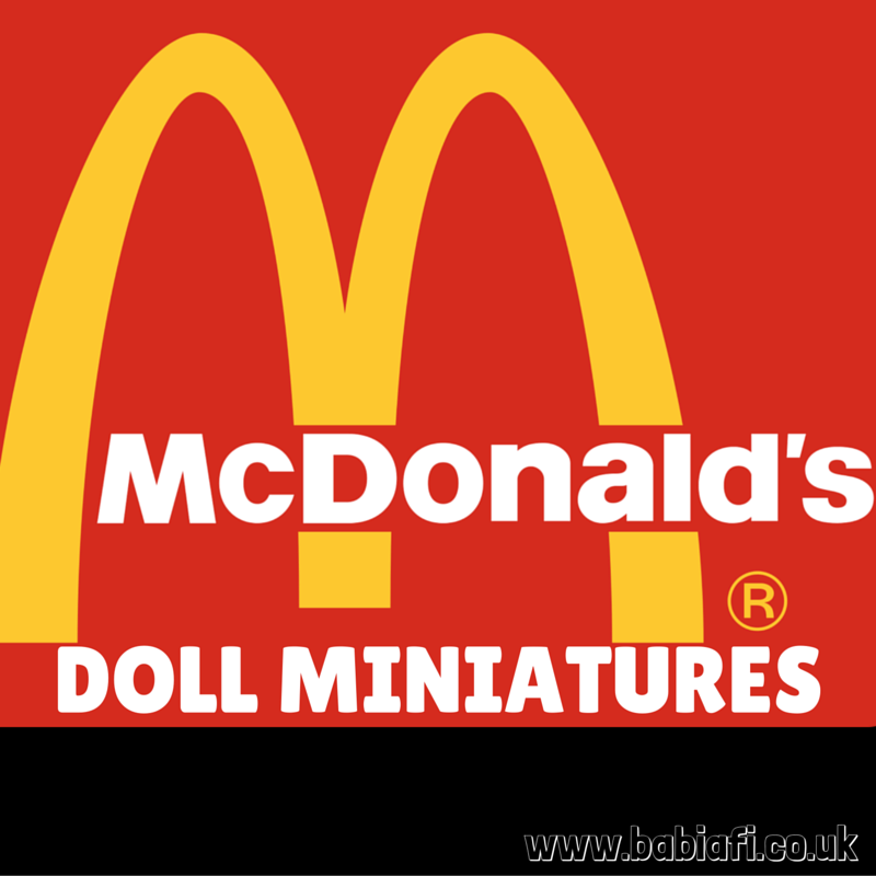 McDonald's Doll Miniatures