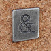 Pewter Ransom Font ampersand