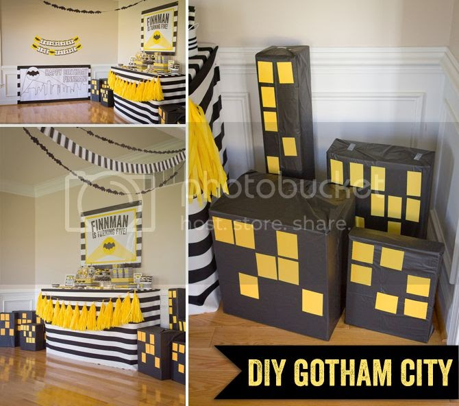 Budget Diy Gotham City For Less Than 5 Rv Parties