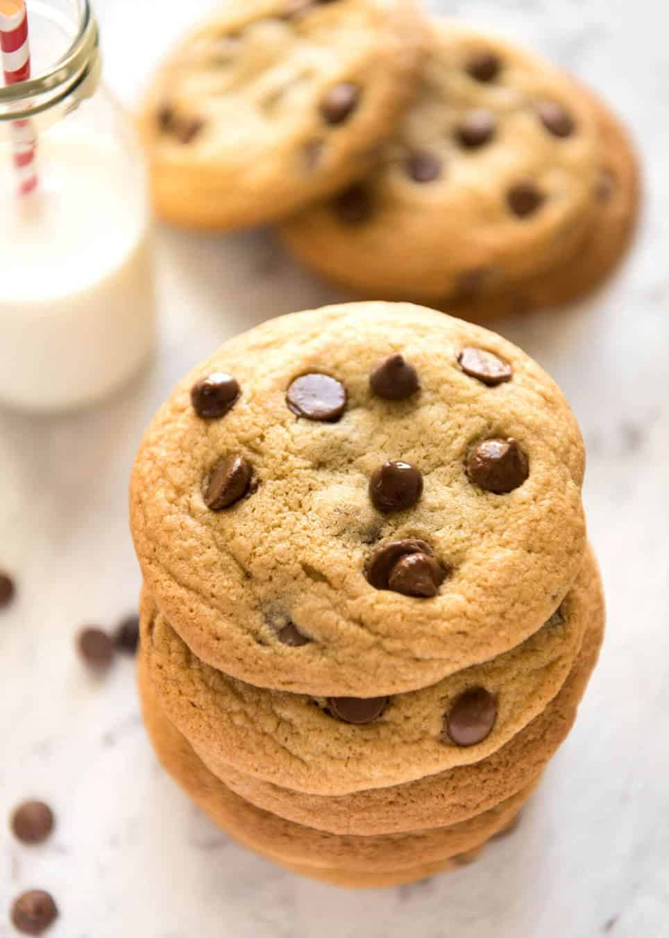Chocolate Chip Cookies (Soft!)   RecipeTin Eats