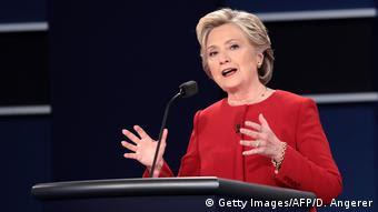 USA Wahlkampf TV Duell (Getty Images/AFP/D. Angerer)