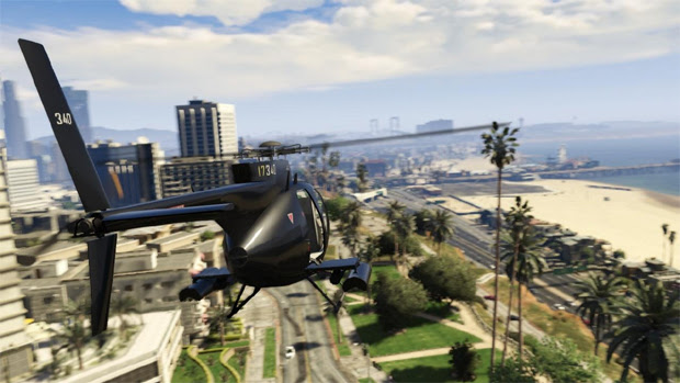 Helicóptero Buzzard pode ser acessado facilmente com um Cheat em GTA 5 (Foto nave360.com)
