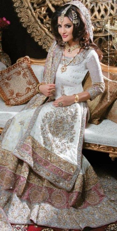 White and pink lehenga, a pretty alternative to red and