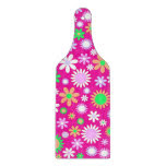 Pink Flower Power Cutting Boards