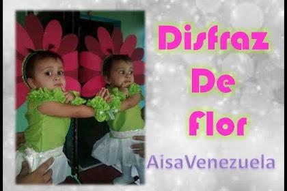 Disfraz De Flor Para Nina Paso A Paso