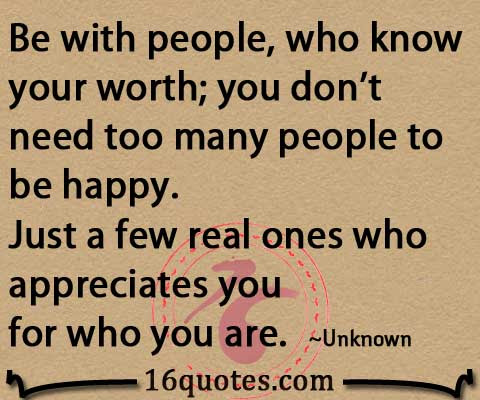 Dont Need Many People To Be Happy Just A Few Real Ones Who