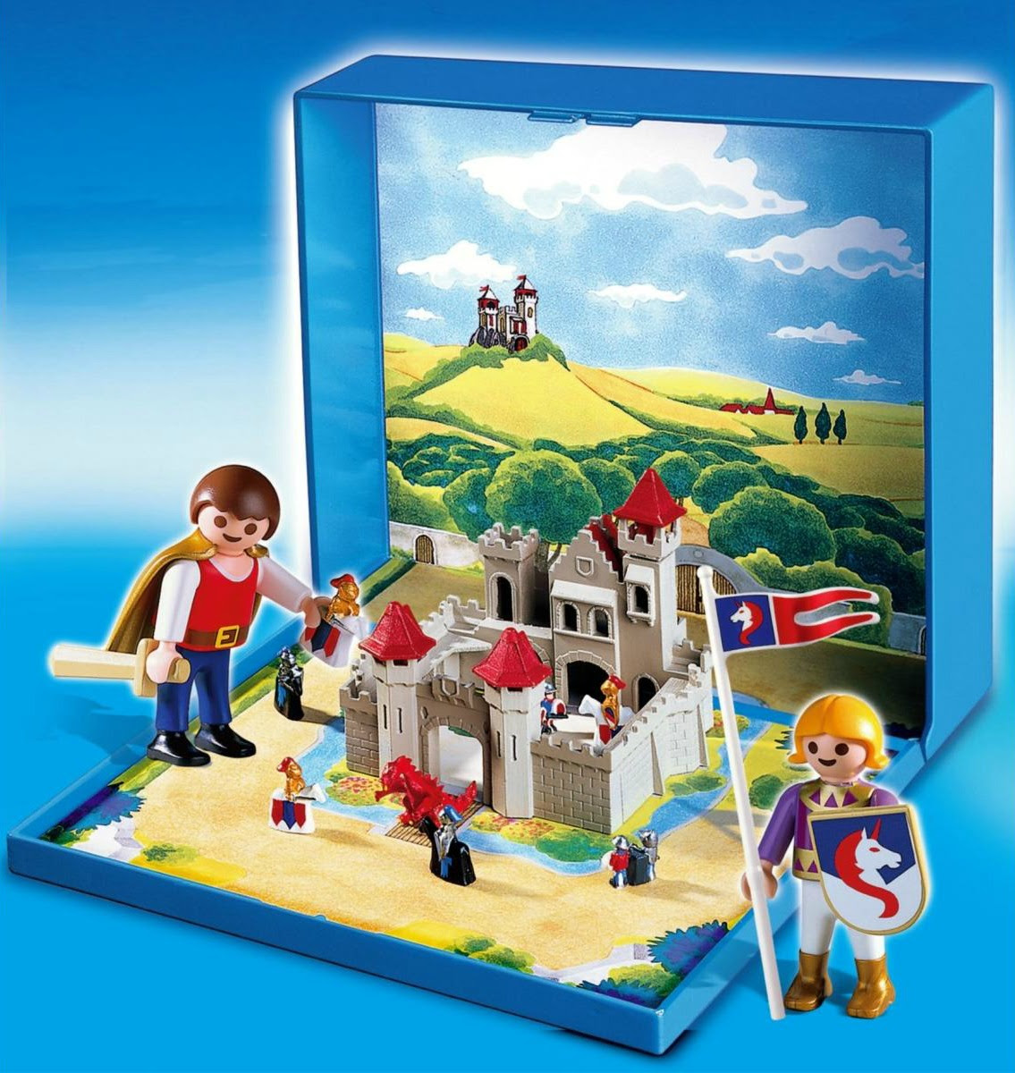 Micro Playmobil Knights' Castle