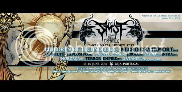 Children Of Technology, Necro Dethmort, Sedna, Infra, Satanize, Jibóia, Quinteto Explosivo, Terror Empire, Marvel Lima, Mordaça,
