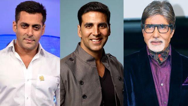 Salman, Amitabh and Akshay