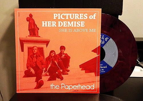 "The Paperhead - Pictures Of Her Demise 7"" - Purple Vinyl by Tim PopKid"
