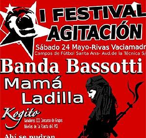Imagen del cartel del festival, organizado por Juventudes Comunistas