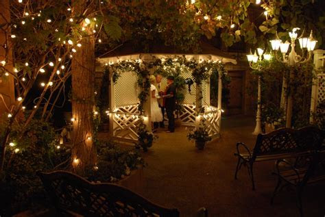 Gazebo Wedding in Las Vegas