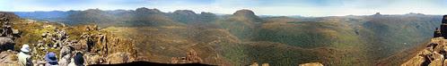 Mt Oakleigh Panorama - Overland Track, Tasmania