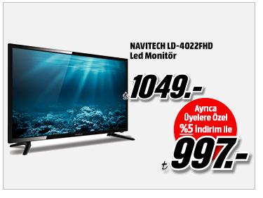 NAVITECH LD-4022FHD Led Monitör 997TL