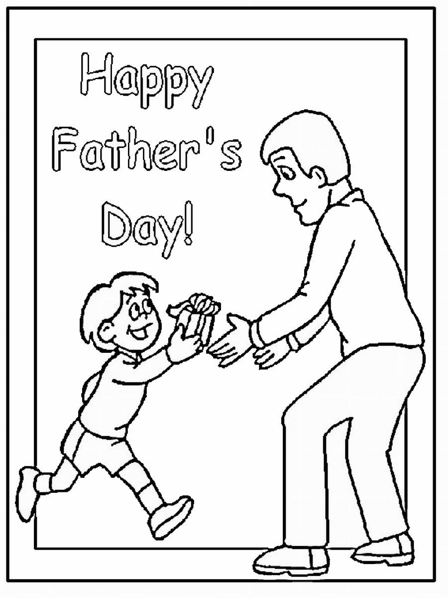 Орхидея смешная, раскраска на день рождения папе от сына