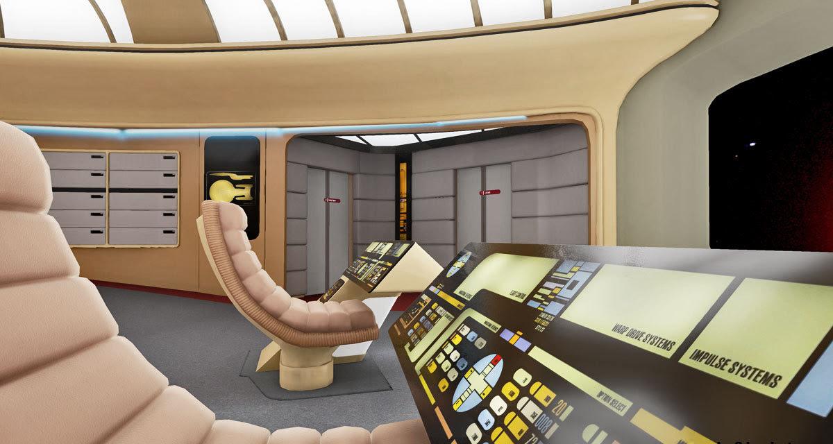 Enterprise-D Construction Project