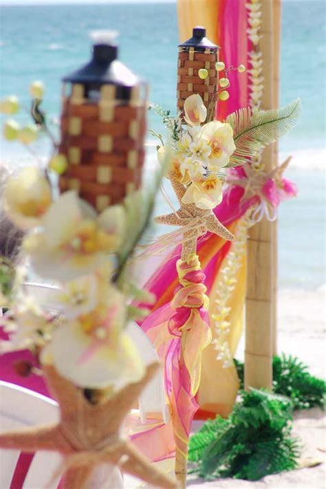 Tropical Palms & Starfish Collection   Sand Petal Weddings