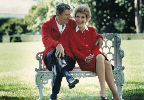Photo of Nancy Reagan died