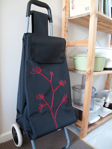 crafting up my market trolley