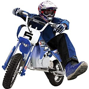 See Razor MX350 Dirt Rocket Electric Motocross Bike Full size and View details