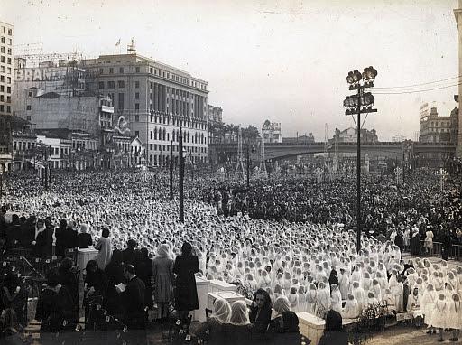 Eucharistic Congress, Anhangabaú, São Paulo, 1942
