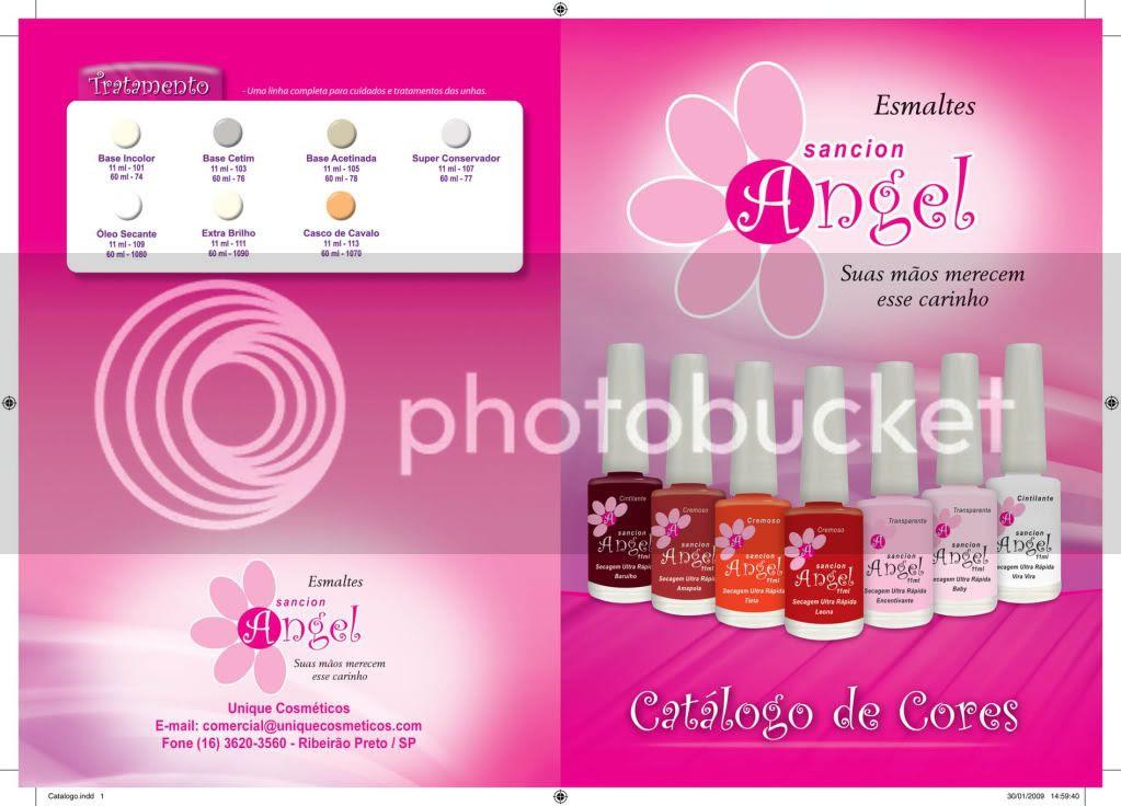 Cute Nails - Catálogo de Esmaltes Sancion Angel