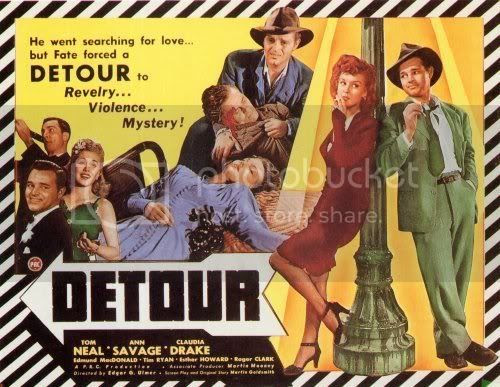 Lobby card for Detour