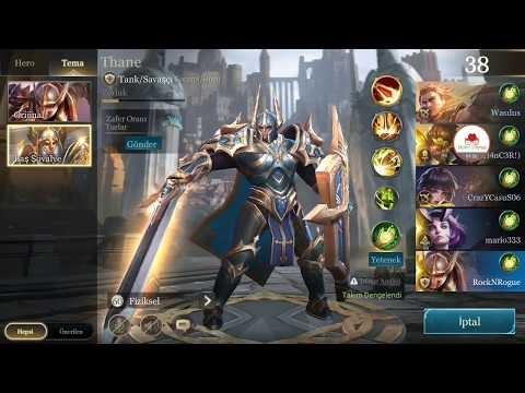 Altında Thane'in Maceraları / Strike of Kings