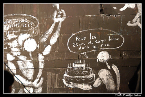 Un bel anniversaire - Jerome Mesnager fait le M.U.R.