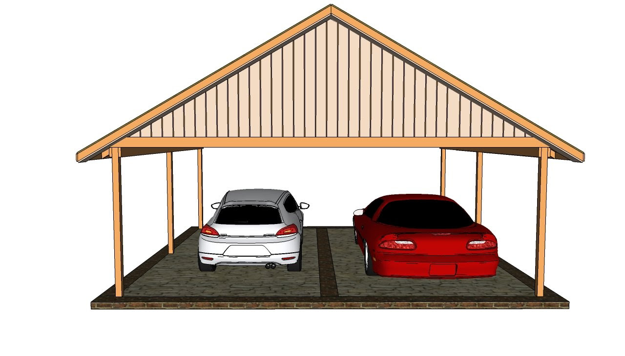 Double carport plans | Free Outdoor Plans - DIY Shed, Wooden ...