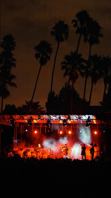 belle + sebastian at hollywood forever