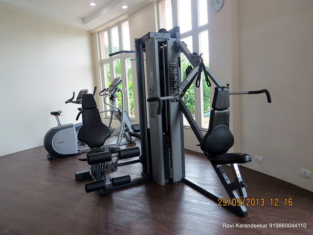 Gym at Sangria Towers, Megapolis, Hinjewadi Phase 3, Pune 411 057 on 28th & 29th September 2013