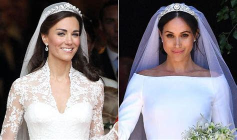 Kate Middleton and Meghan Markle: Royal weddings compared