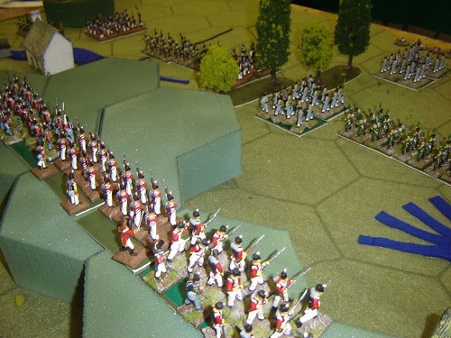 Redcoats Stand Firm